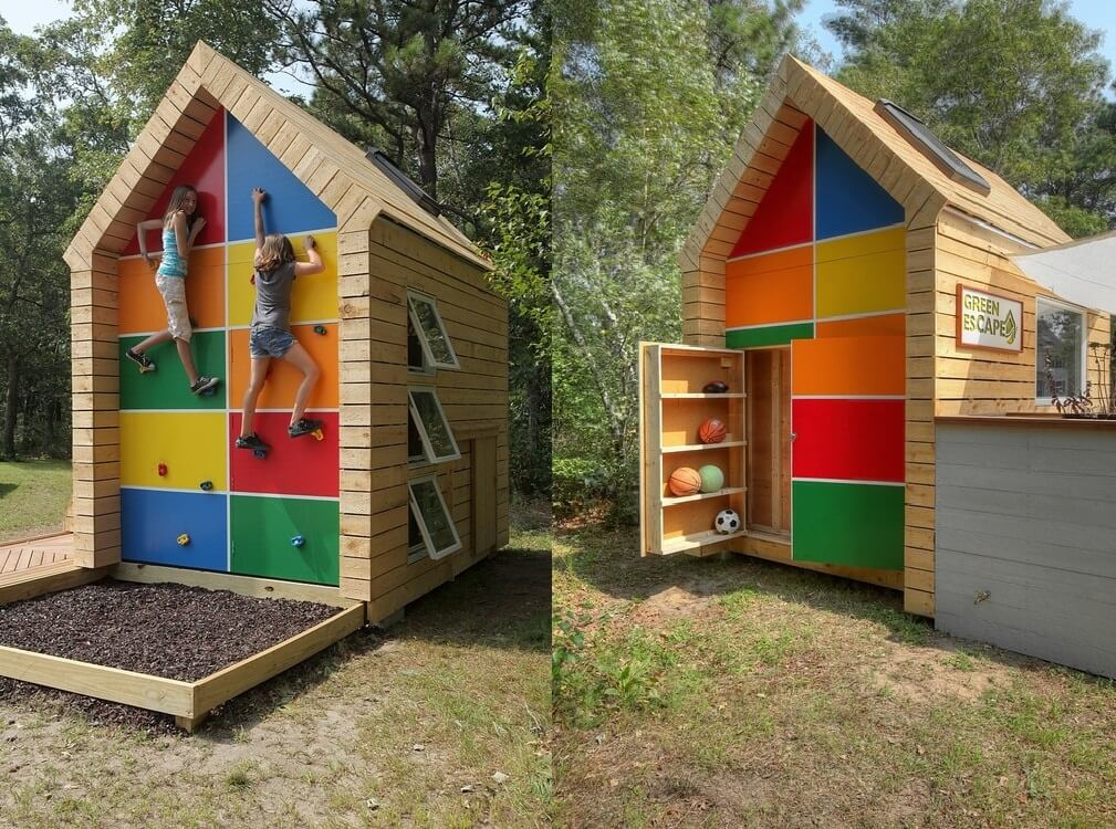 inspiration these kids playhouses are perfect for the backyard