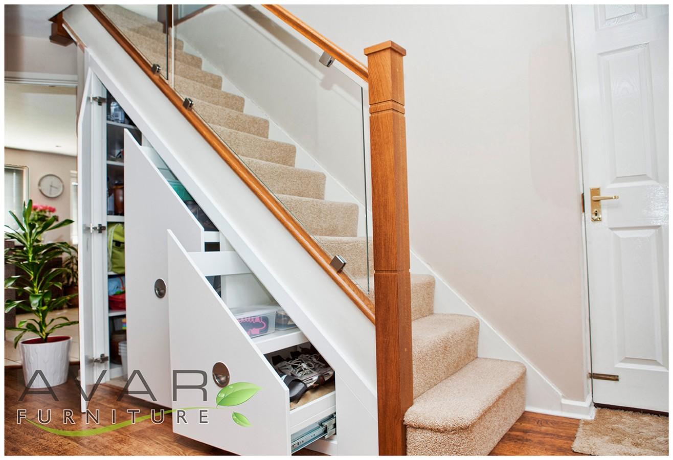 inspiration     under stairs storage ideas   gallery 2north london