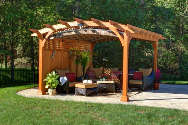 Inspiration What Is A Pergola  Byler Barns Medium