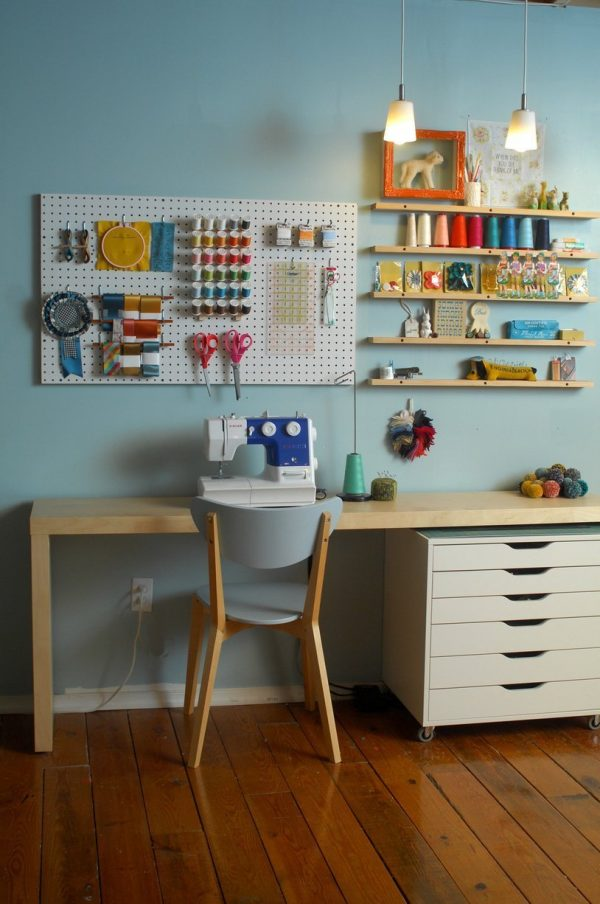 Inspirational 10 Ways To Use Pegboard In Your Craft Room  Scrap Booking Medium