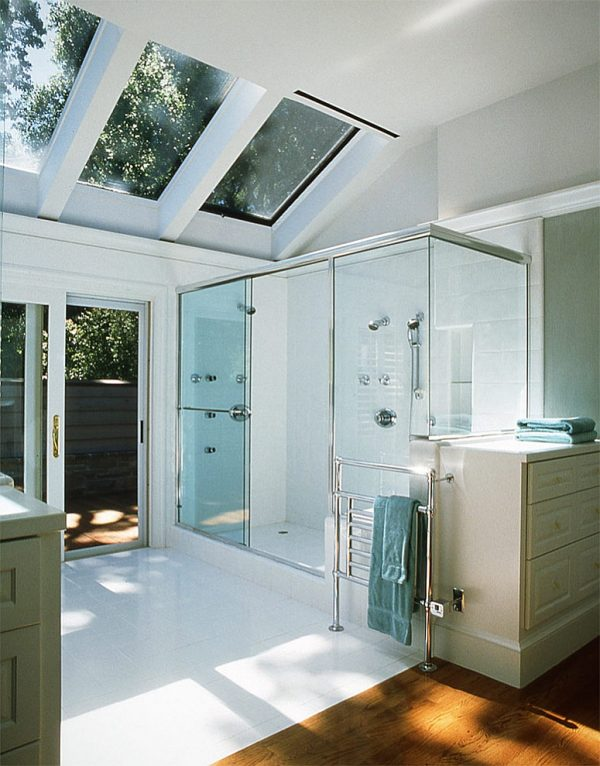 Inspirational 23 Gorgeous Bathrooms That Unleash The Radiance Of Skylights