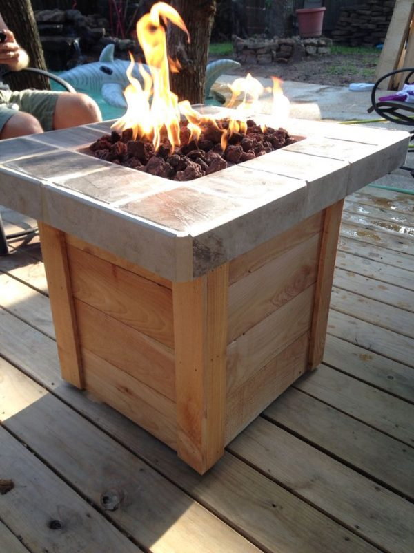 Inspirational 42 Best Diy Patio Furniture Images On Gas Fire Medium