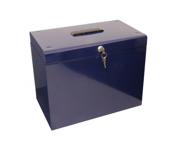 Inspirational A4 Metal File Box Cathedral A4 Metal File Storage Box Blue Medium