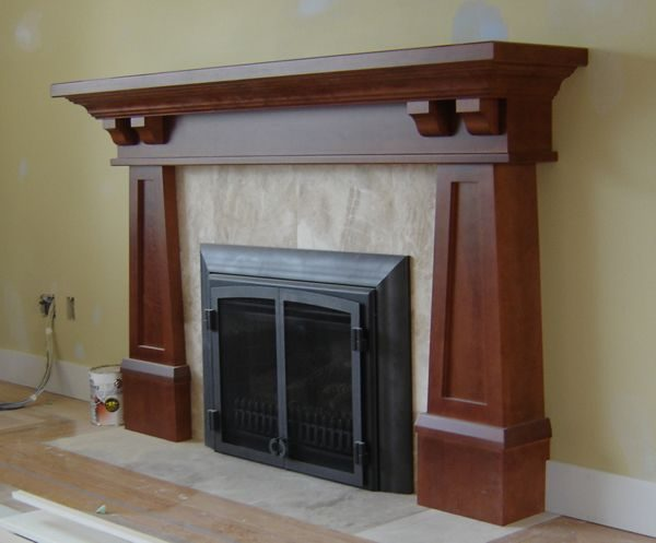 Inspirational Arts And Crafts Mantelscraftsman Fireplace Mantel Medium