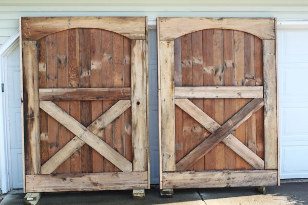Inspirational Barn Doors Are Up  We Have Closure Old World Garden Farms Medium
