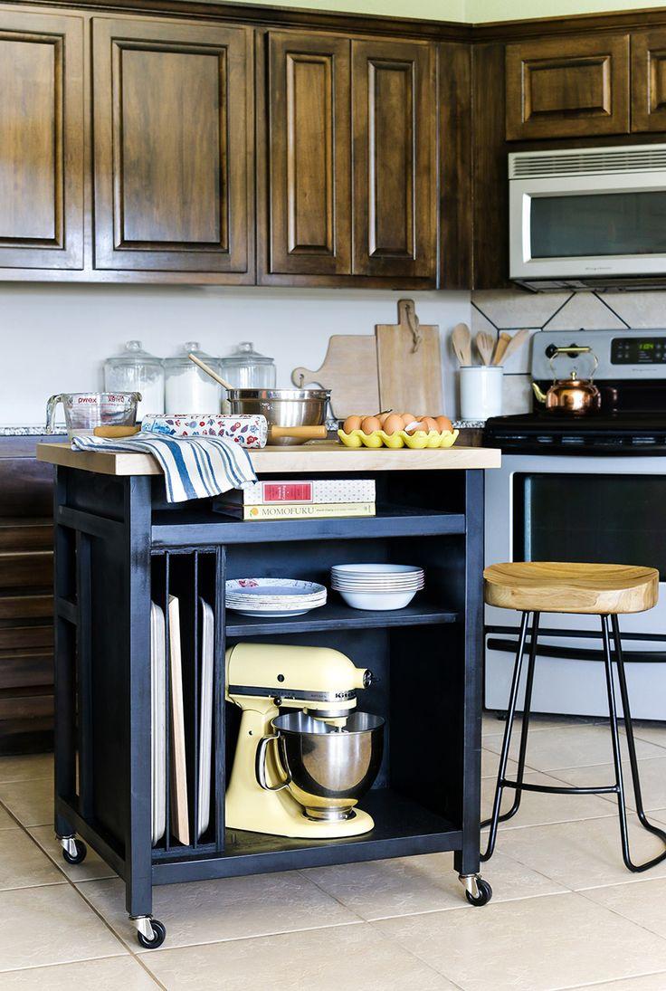 inspirational best 25  rolling kitchen island ideas on