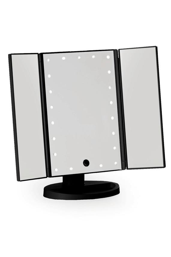Inspirational Black Three Way Vanity Mirror Medium