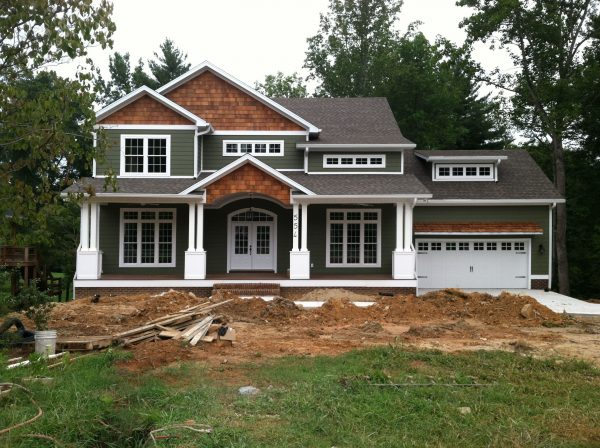Inspirational Craftsman Style Hometurn The Garage To The Side Medium
