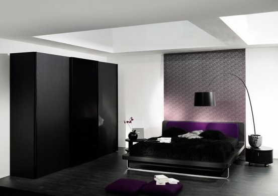 Inspirational Creative Ideas On Black And White Bedroom Designshome Medium