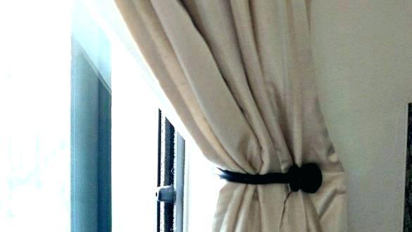 Inspirational How High To Mount Curtain Tie Backs Myfamilylivingcom Medium