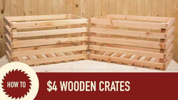 Inspirational How To Make A Wood Crate From A 2x6 Youtube Medium