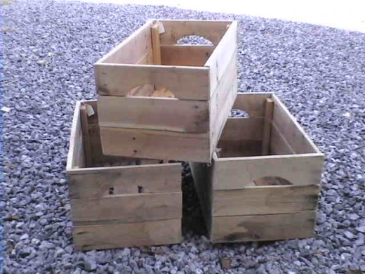 Inspirational How To Make Apple Crates From Reclaimed Pallet Woodhubpages Medium