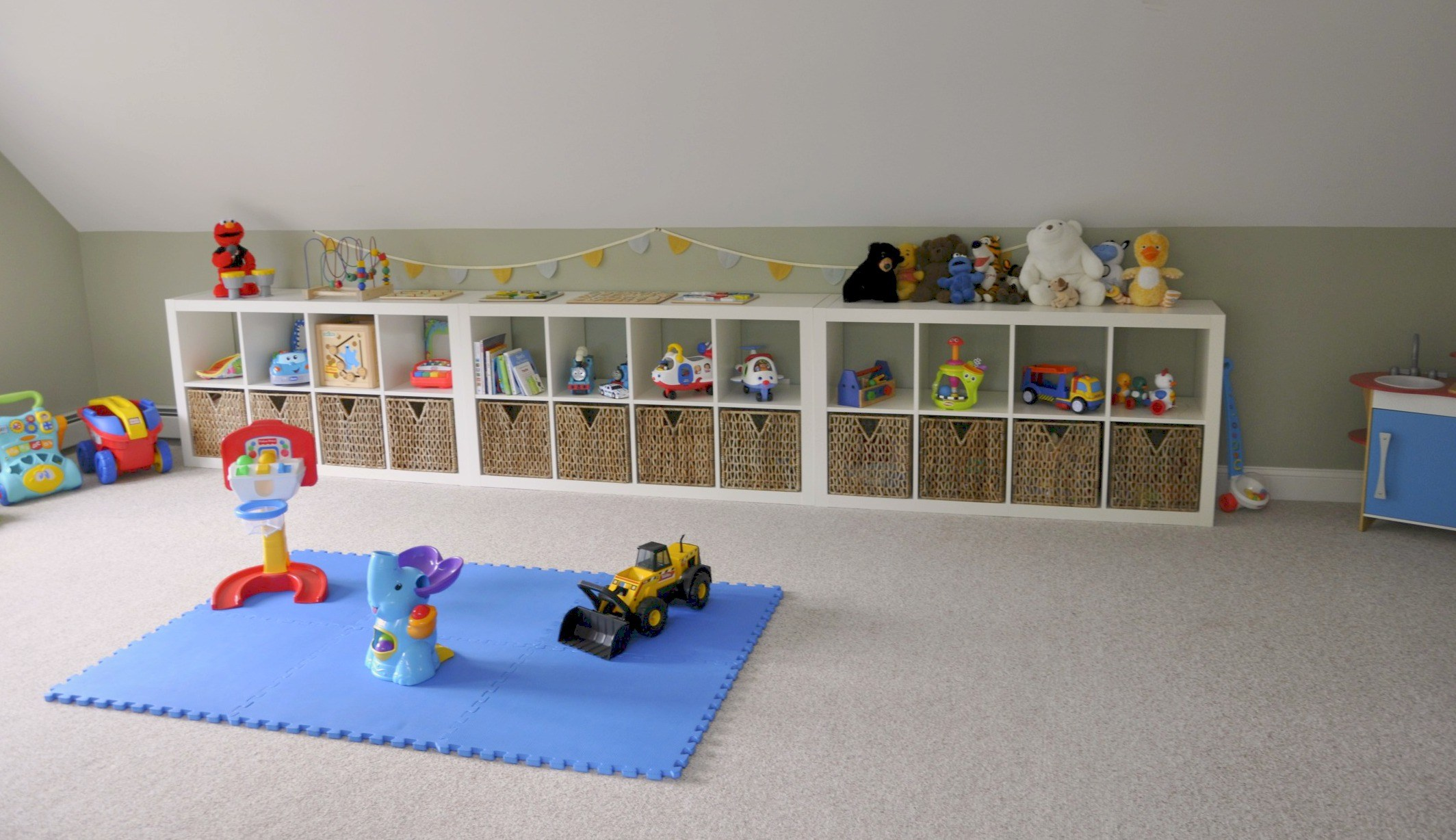 inspirational ikea expedit playroom storage2 sisters 2 cities