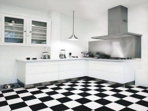 Inspirational Kitchenblack And White Kitchen Floor Tiles Best Tile Medium