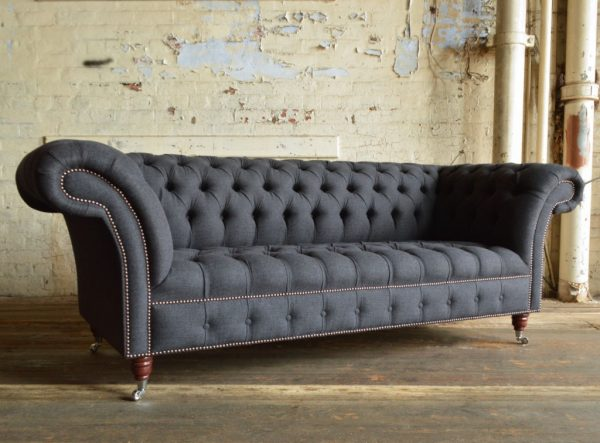 Inspirational Nuvo Wool Chesterfield Sofaabode Sofas Medium