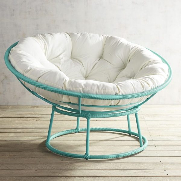 Inspirational Outdoor Peacock Blue Papasan Chair Frameeverything Medium