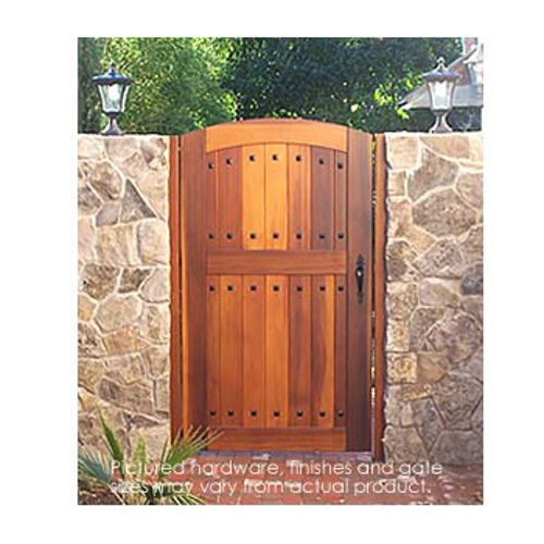 Inspirational Pacific Gate Works Hacienda Side Yard Gate Costco Online Medium