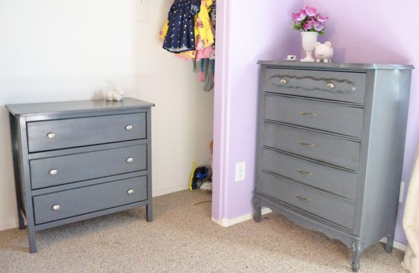 Inspirational Sewoverit Pretty In Grey Dresser Makeovers Medium