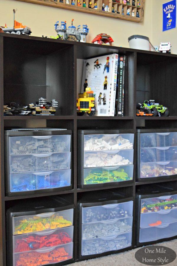 Inspirational Simple And Decorative Lego Storage Medium
