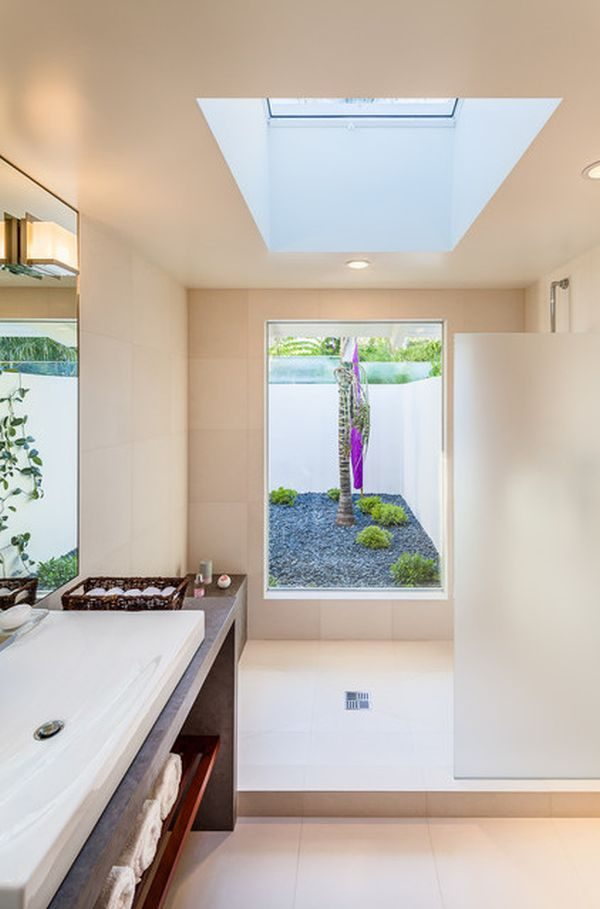 Inspirational Six Stunning Uses Of Skylights In Bathrooms Medium
