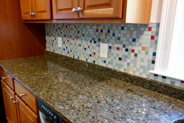 Inspirational South Beach Glass Tile Kitchen Backsplash Medium