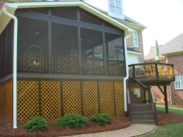 Inspirational This Greensboro Triad Porch And Deck Make Great Use Of Medium