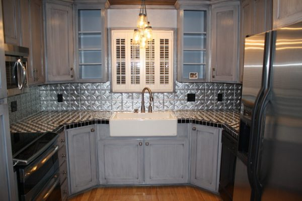 Inspirational Tin Backsplash Kitchen Backsplashes Contemporary Medium