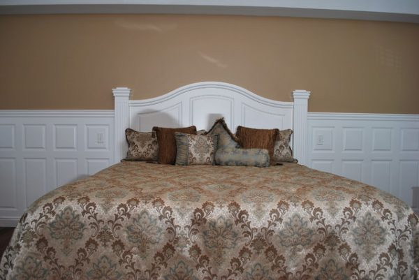 Inspirational Wainscoting Beadboard With Raised Panel Headboard Medium