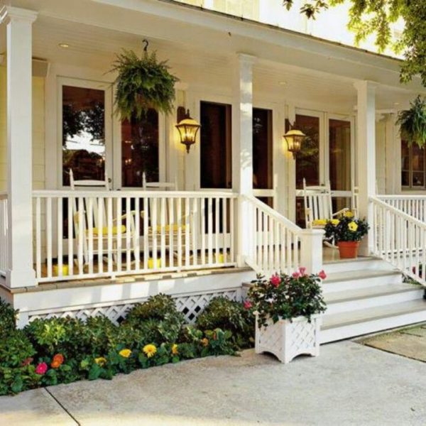 Inspirational Wonderful Covered Front Porch Designs You Should See Today Medium