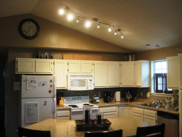 Inspirational Wonderful Kitchen Track Lighting Ideas Midcityeast Medium