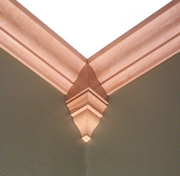 Install Miterless Crown Molding Corner Blocks HOUSE Medium
