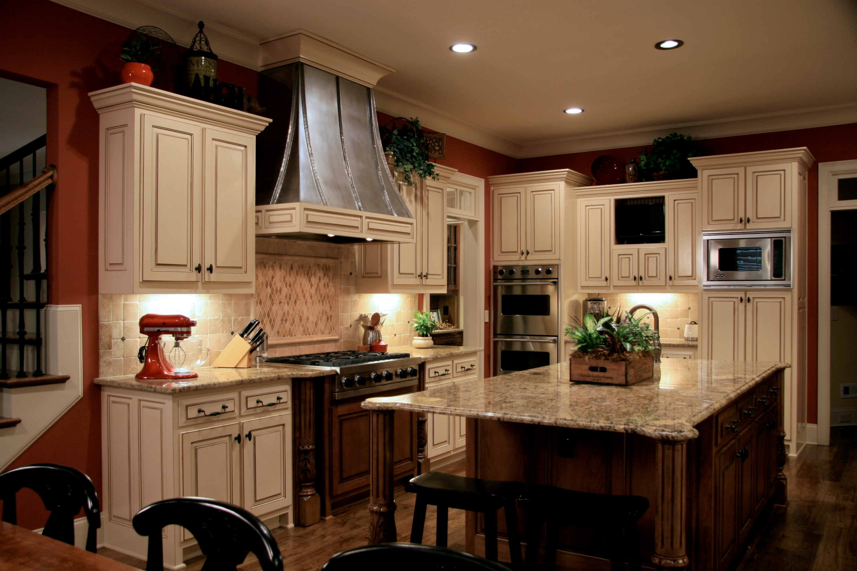 install recessed lighting in a kitchenpro construction