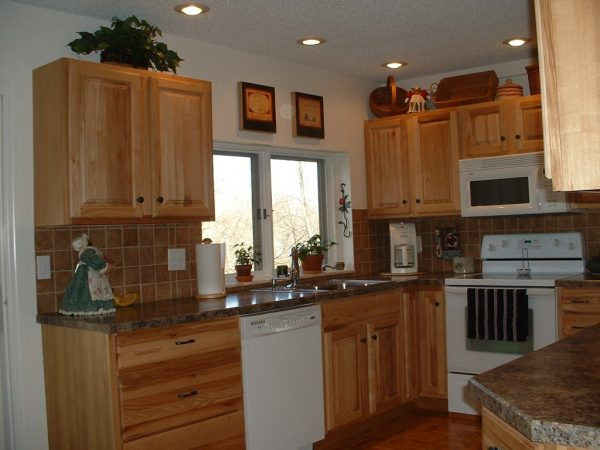 Kitchen Elegant Kitchen Design Ideas With Recessed Lights Medium