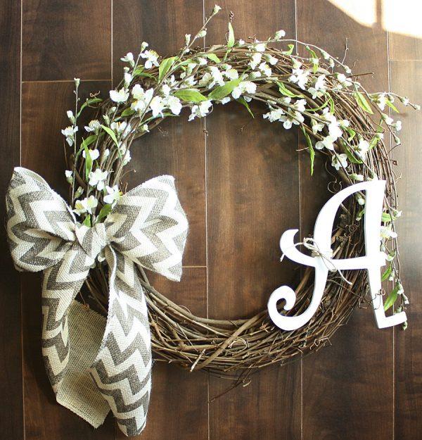 Looking 22 Enlivening Handmade Spring Wreath Designs Style Medium