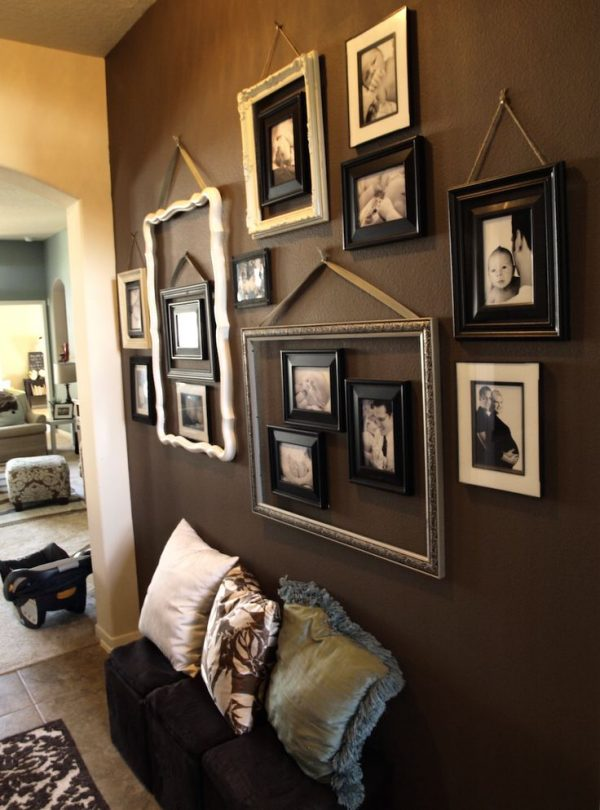 Looking 25  Best Ideas About Collage Frames On Wall Medium