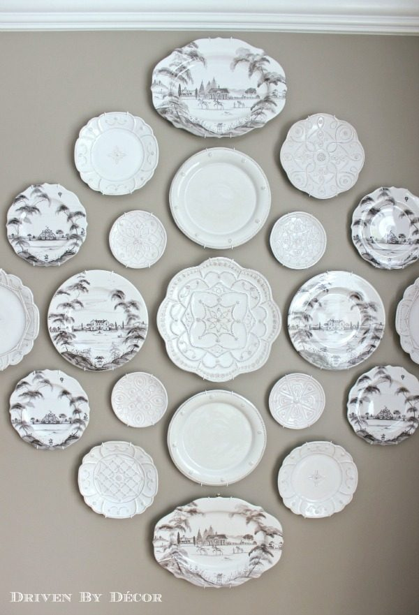 Looking A New Decorative Plate Wall In Our Dining Roomdriven By Medium