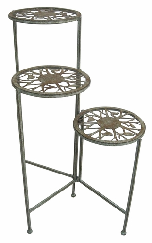 Looking Alpine Corp Mod106 Metal 3 Tier Plant Stand By Alpine Corp Medium