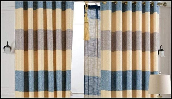looking blue and yellow striped shower curtains download page medium