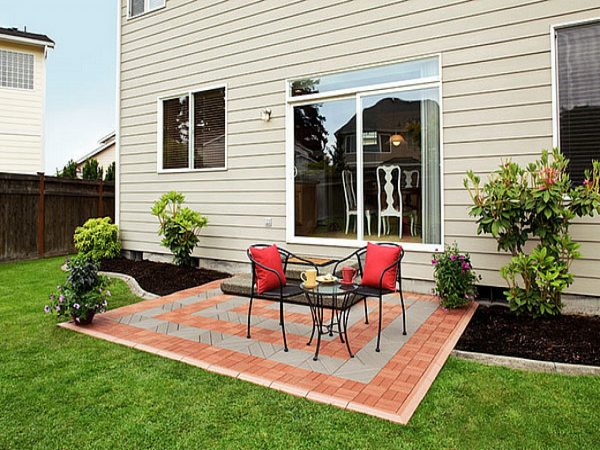 Looking Cheap Outdoor Patio Flooring Ideas Floor Options Designs Medium