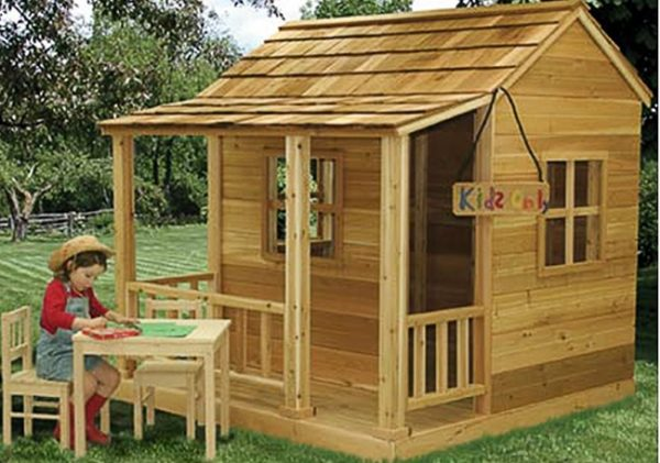 Looking Childrens Playhouse 6x6 Little Cedar Playhouse Medium