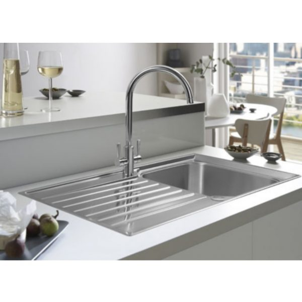 Looking Franke Ascona Kitchen Sink Mixer Tap Baker And Soars Medium
