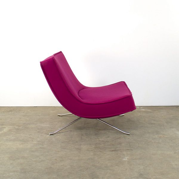 Looking French Pop Easy Lounge Chair By Christian Werner For Ligne Medium