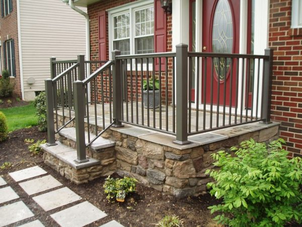 Looking Front Porch Handrail Ideas Medium