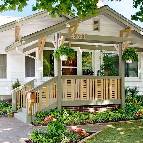 Looking Give Your Home An Exterior Facelift By Replacing Worn Or Medium