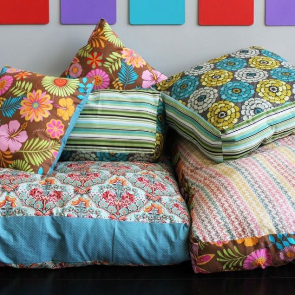 Looking How To Create Your Own Colorful Jumbo Floor Pillowsbrit Medium