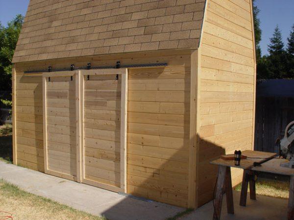 Looking Make Sliding Barn Doors Using Skateboard Wheels 7 Steps Medium