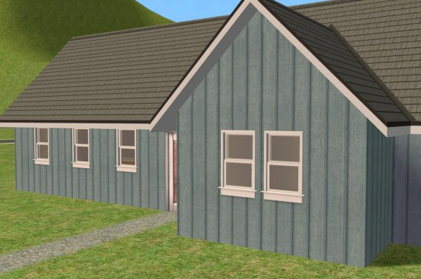 Looking Mod The Sims Board   Batten Siding Medium