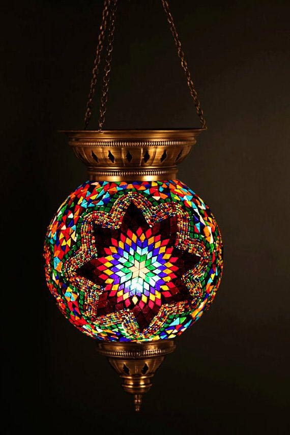 Looking Moroccan Pendant Chandelier Lamp Ceiling Light Fixture Medium