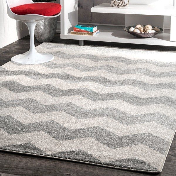 Looking Nuloom Geometric Chevron Kids Rug 710 X 1010 Free Medium