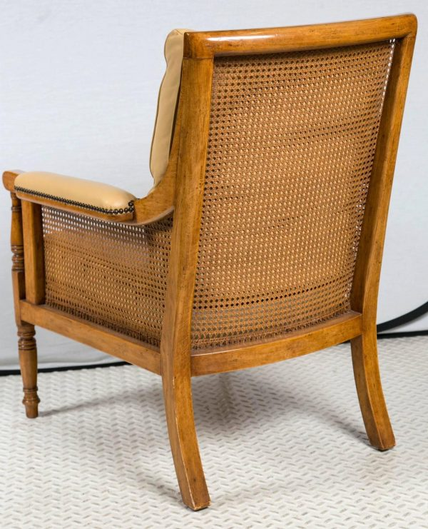 Looking Pair Of Rose Tarlow Cane Chairs At 1stdibs Medium